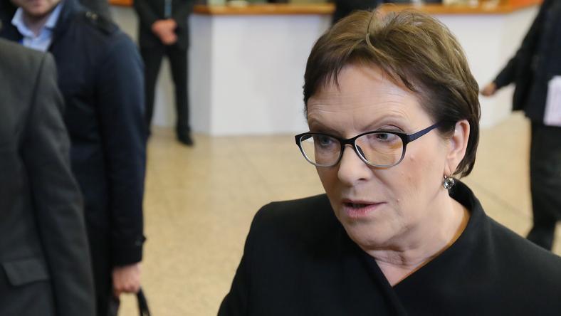 Ewa Kopacz na szczycie UE w Brukseli