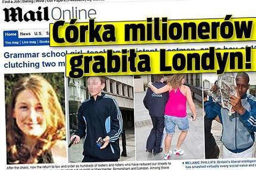 Córka milionerów grabiła Londyn!
