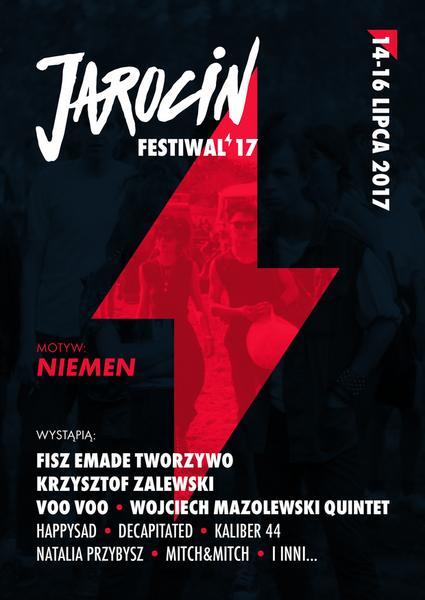 Jarocin Festiwal 2017: plakat