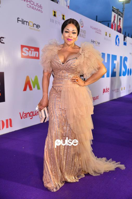 Shaffy Bello at 'She Is' movie premiere [PULSE]