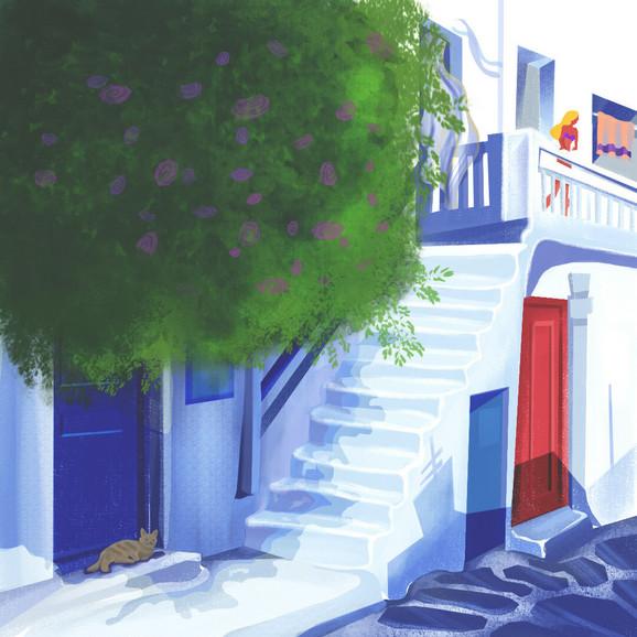 Jedna od ilustracija Nene Todorović, odnosno Krive Drine