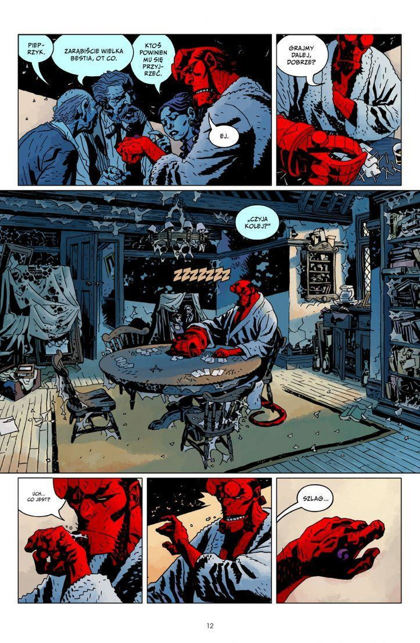 """""""Hellboy. Zew ciemności. Dziki gon"""""""