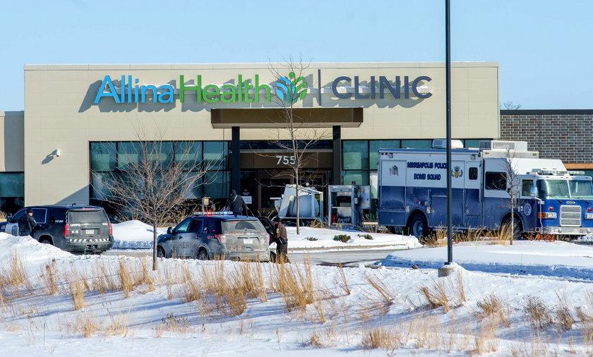 Pacjent otworzył ogień w klinice. Jedna ofiara śmiertelna
