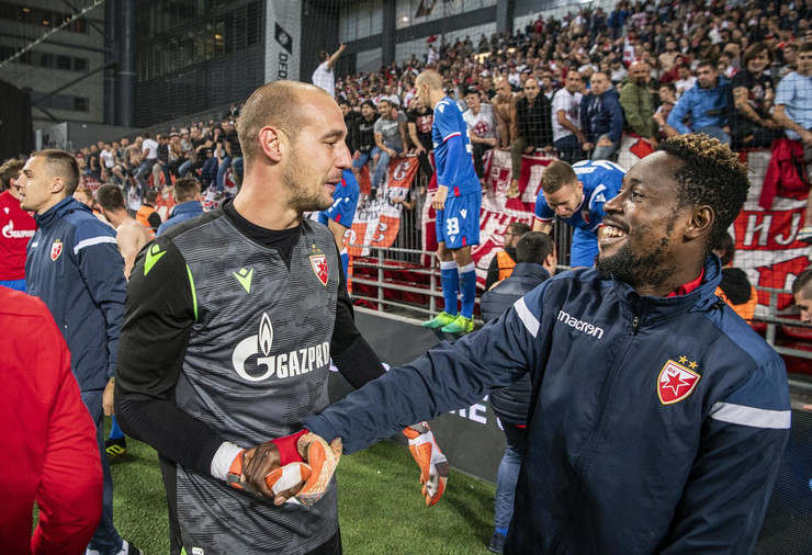 FK Crvena zvezda, FK Kopenhagen, Milan Borjan