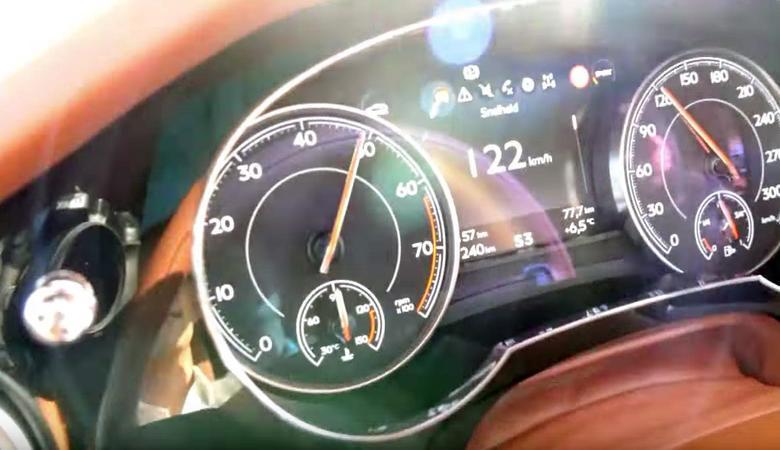 Bentley Bentayga przyspiesza jak superauto