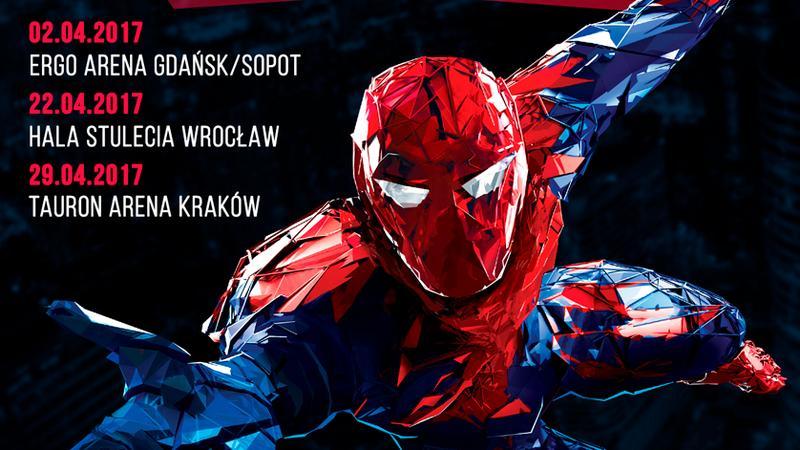 """Widowisko """"Superheroes in concert"""""""