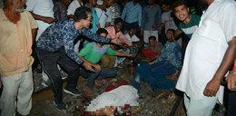 Makabra! Pędzący pociąg wjechał w tłum, przerażający bilans ofiar