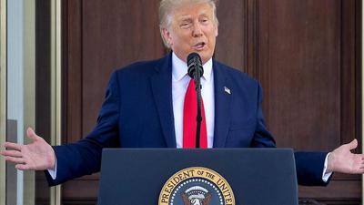United States President Donald Trump tests positive for coronavirus