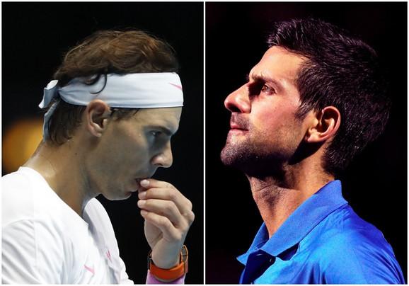 Rafael Nadal i Novak Đoković