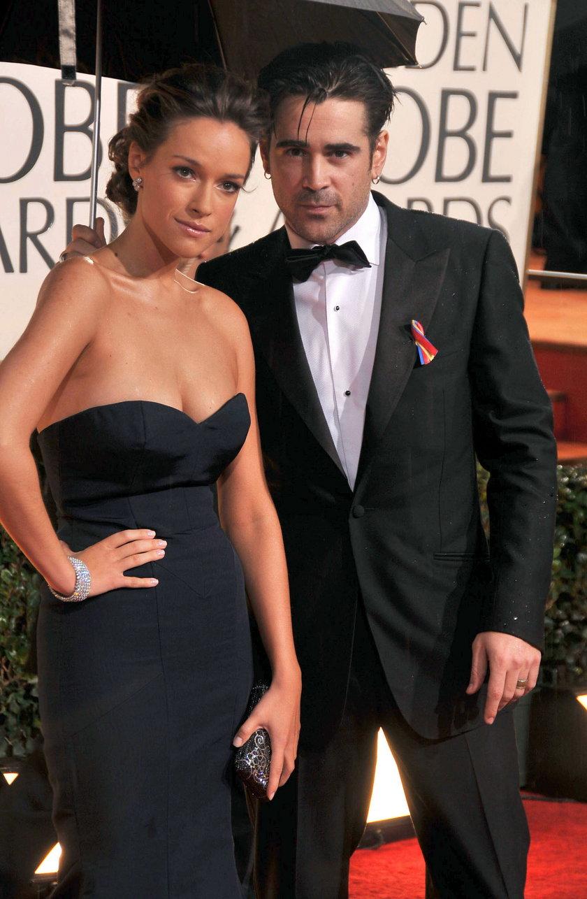 Colin Farrell i Alicja Bachleda-Curuś