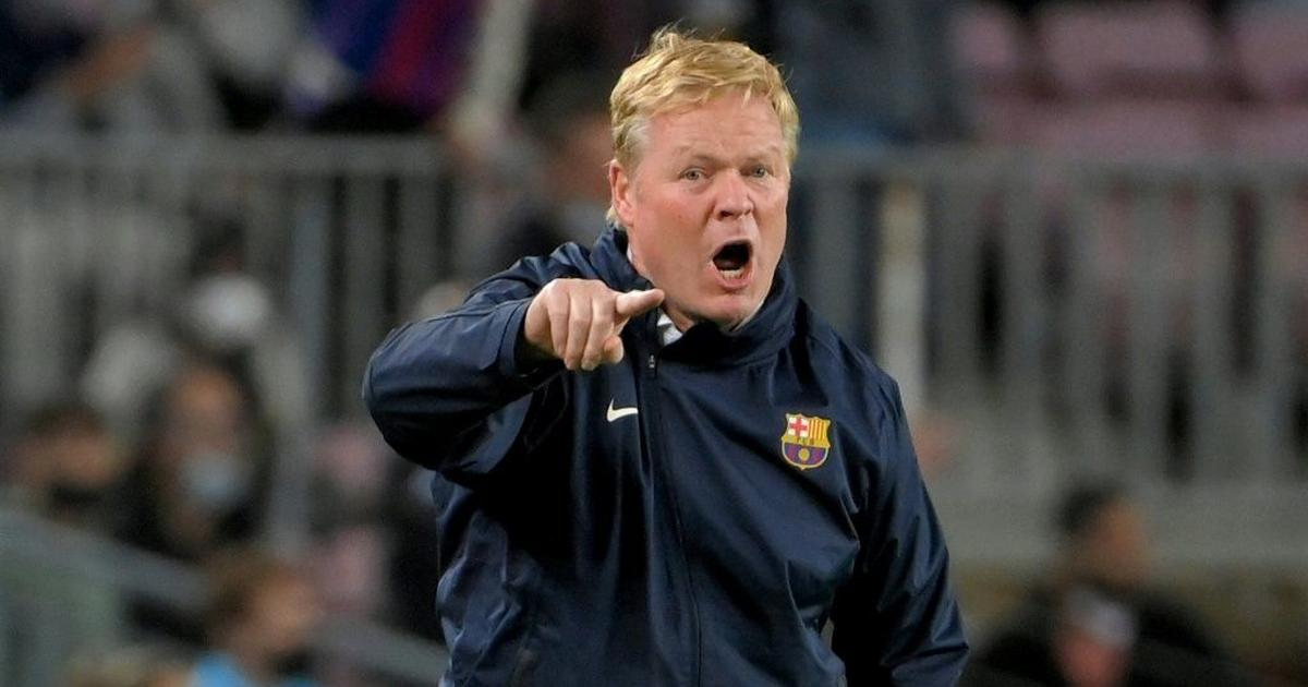 Koeman defends direct approach after Barca held by Granada