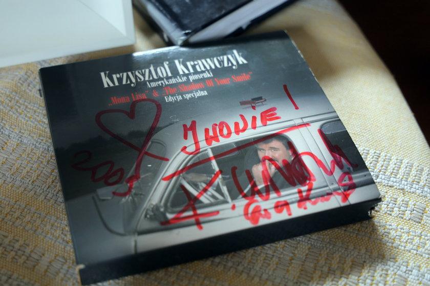 Pamiątki po Krzysztofie Krawczyku