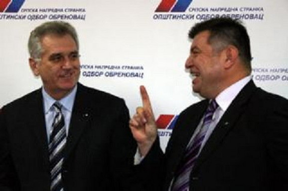 Tomislav Nikolić, bivši predsednik SNS, i Milorad Grčić