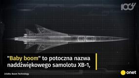 Baby Boom - samolot pasażerski szybszy od Concorde'a