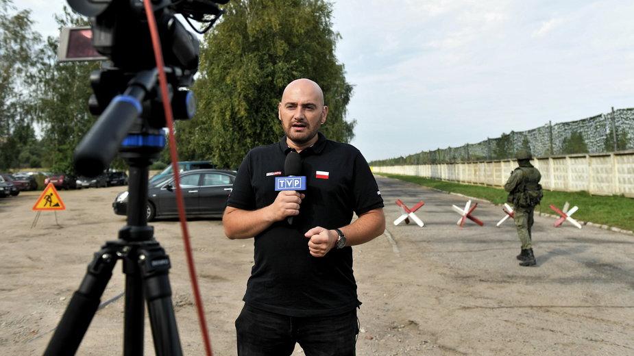 Tomasz Jędruchów w Smoleńsku w 2018 r.