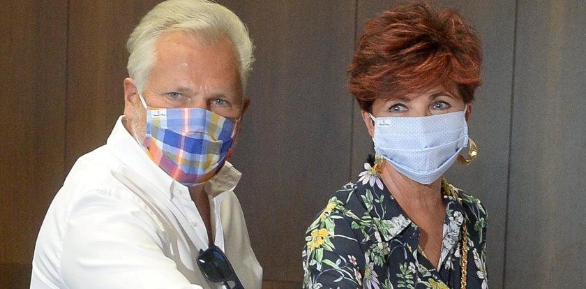 Kwaśniewscy w Szwajcarii leczą się z wirusa