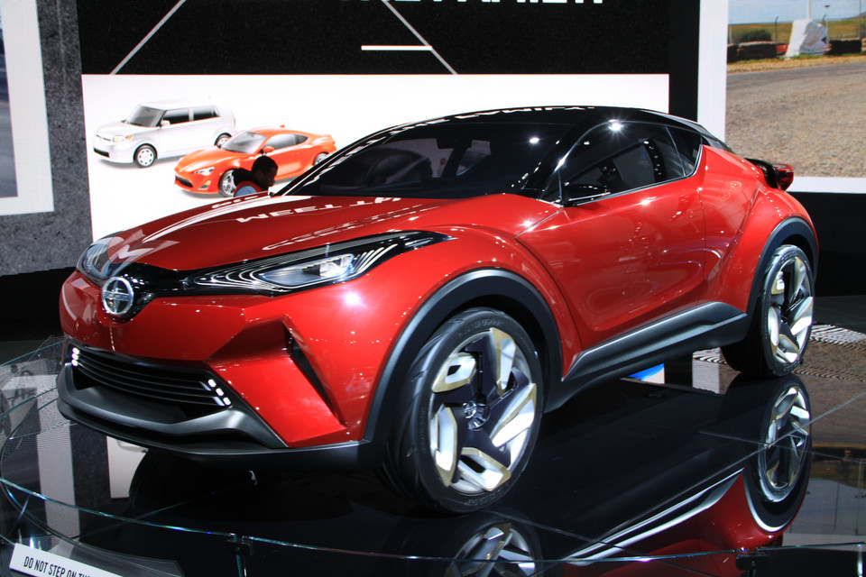 Detroit 2016 - Scion C-HR Concept