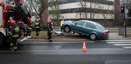 Uwaga! Gołoledź i wypadki w Łodzi. Jest ostrzeżenie policji