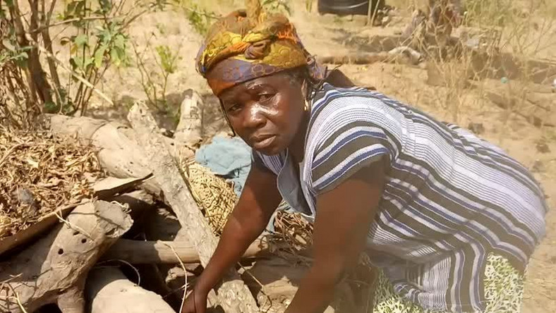 V/R: Poor widow hides her life savings under firewood, loses it to termites