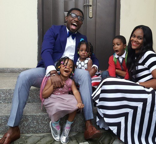 If you are looking for a reason to laugh on social media, take a stroll into Timi's Instagram and Twitter pages. There is always something funny and cute about the award-winning singer and his family.