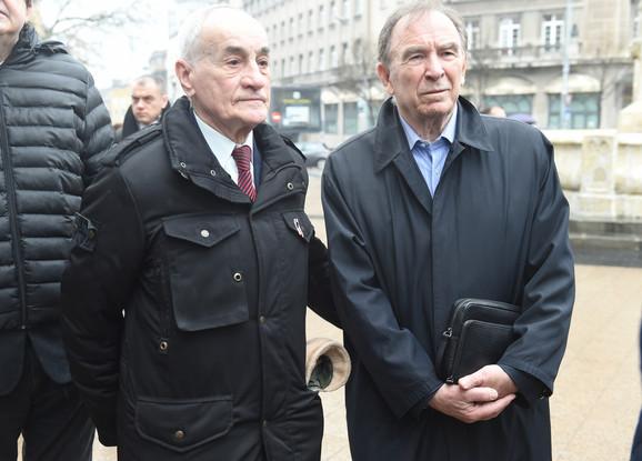 Vladica Popović i Ivan Ćurković na jubileju OKS-a
