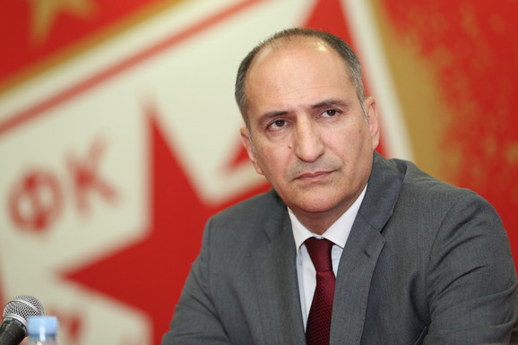 Mitar Mrkela, sportski direktor Crvene zvezde