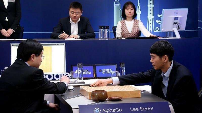 Mecz AlphaGO z Lee Sedolem