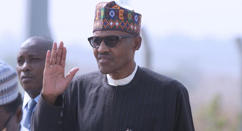 President Muhammadu Buhari [Sunday Aghaeze]