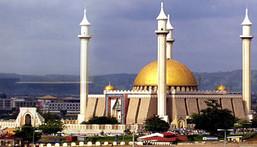 National Mosque in Abuja, Nigeria. [cometonigeria]