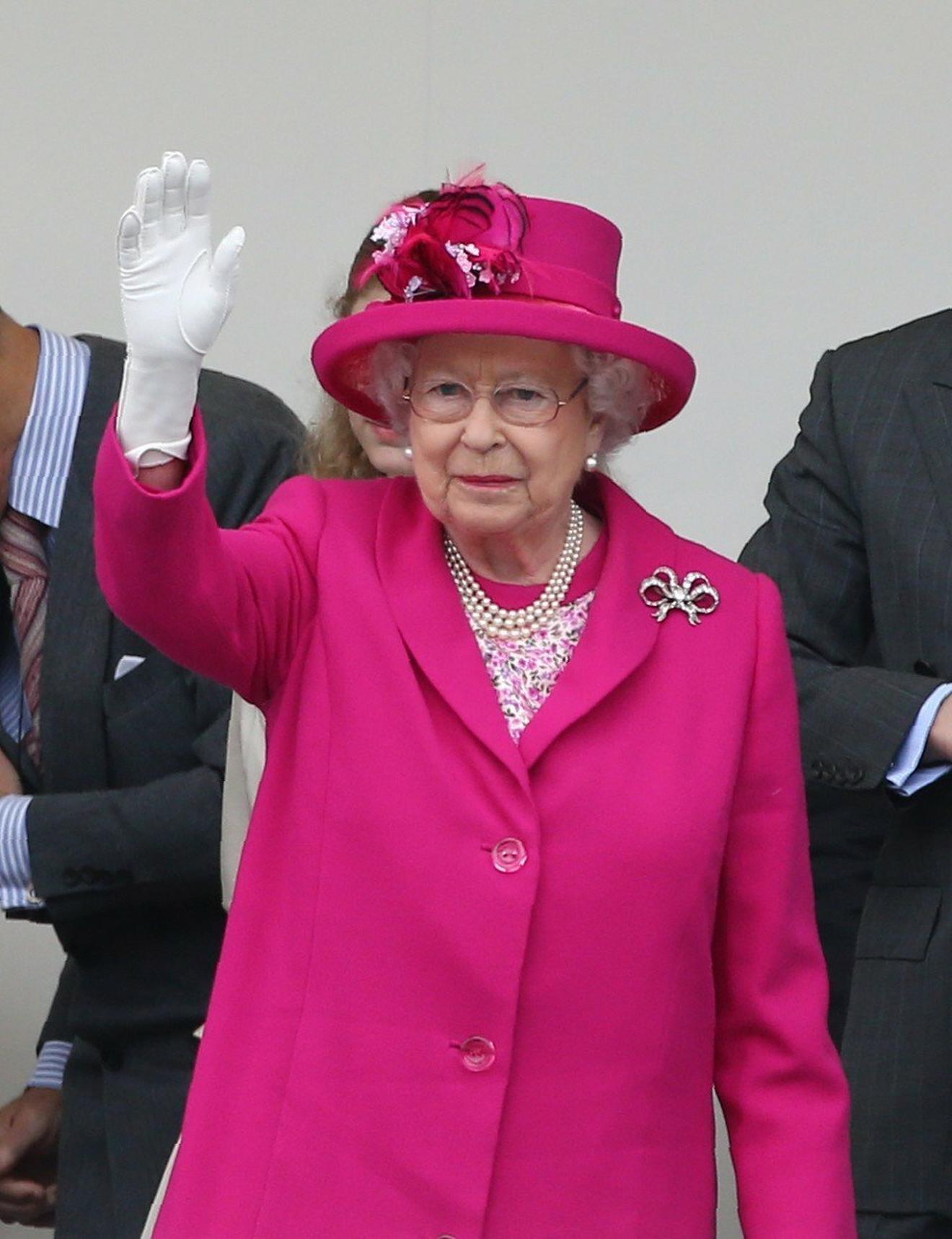 Britanska kraljica Elizabeta druga