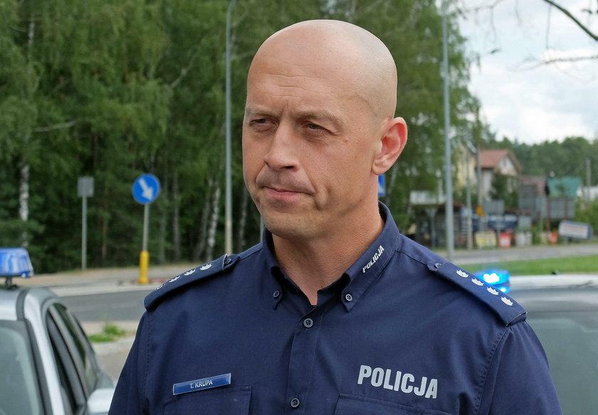 Nadkomisarz Tomasz Krupa