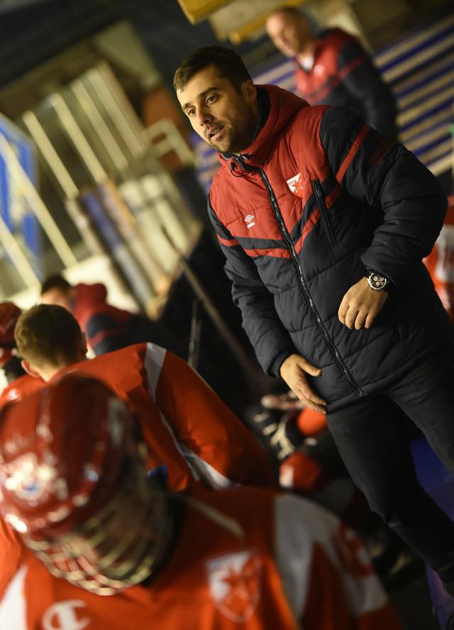 Trener mlađih kategorija HK Crvena zvezda, Marko Juloski
