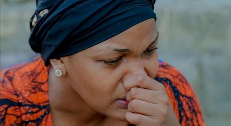 Wema Sepetu breaks down into tears