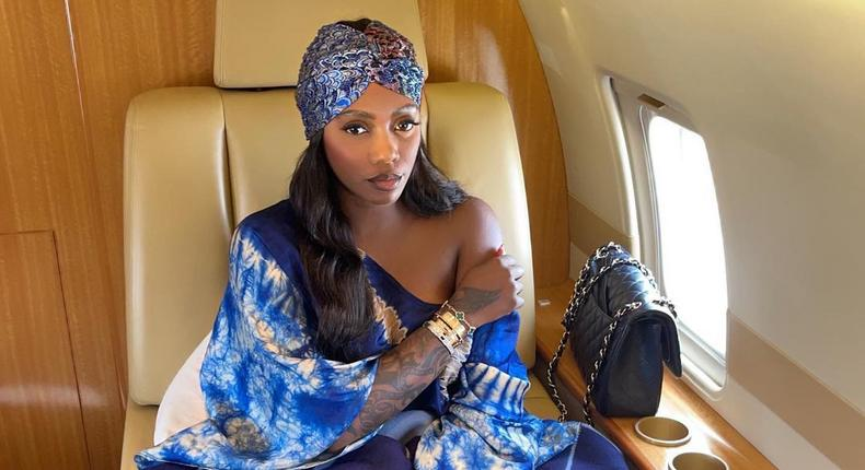 Tiwa Savage reveals someone is trying to extort her a sex tape  (Instagram/Tiwa Savage)