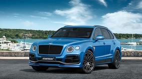 Bentley Bentayga stuningowany po raz pierwszy