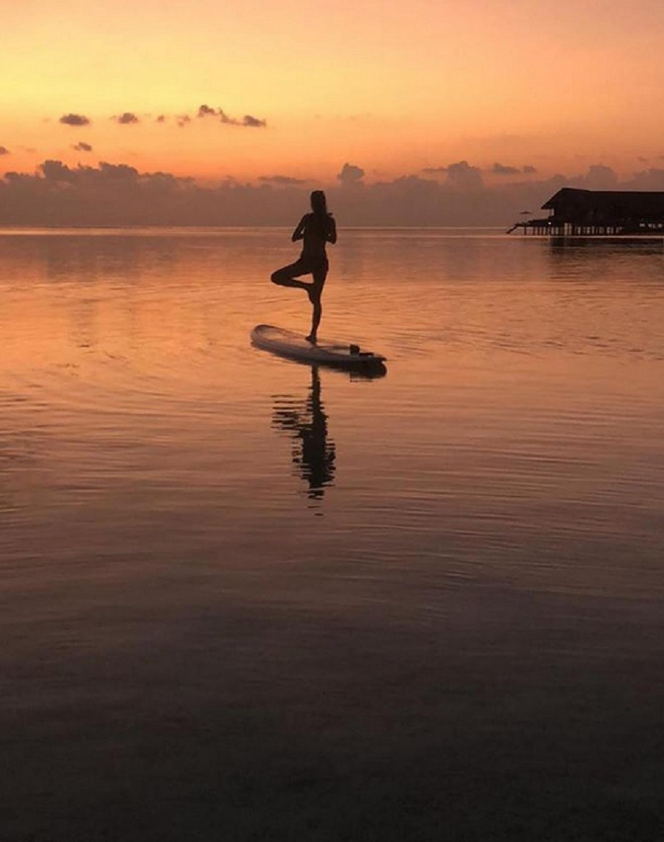 Jelena Đoković na Maldivima