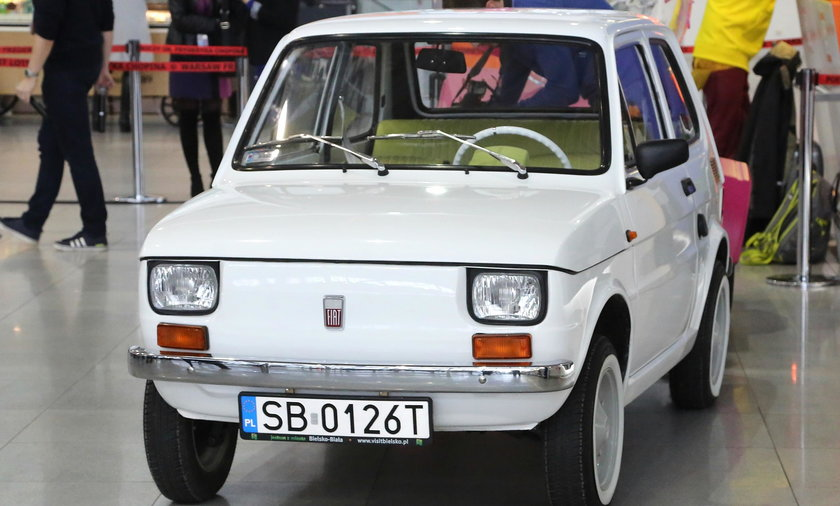Fiat 126P. Prezent dla Toma Hanks'a