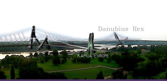 Oljin most:  Panorama sa Kalemegdana