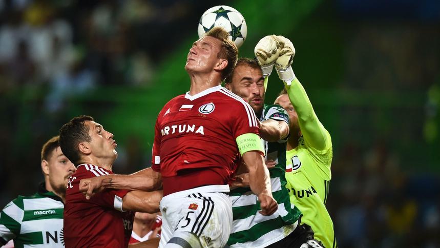 83bfffa33 Liga Mistrzów: Sporting Lizbona – Legia Warszawa 2:0.