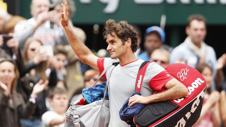 Roger Federer odpadł w 1/8 finału