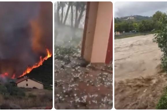 PAKLENA NEDELJA Poplave, požari, grad i odroni, sve ove katastrofe pogodile su Italiju, PRIZORI SU STRAŠNI (FOTO, VIDEO)