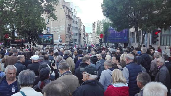 Protest '1 od 5 miliona': Borba za slobodu se nastavlja, nema stajanja