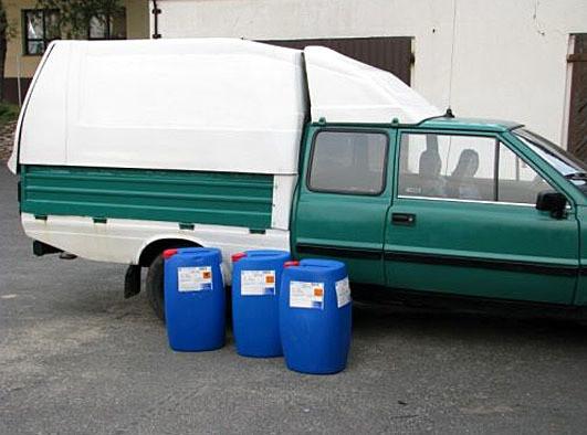 Cud w Olesnie: benzyna okazała się wodą