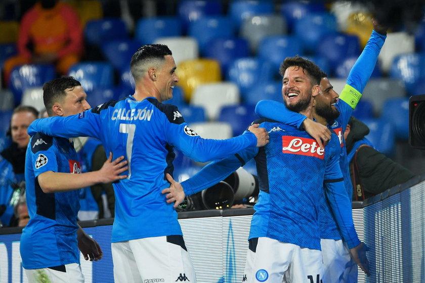 Liga Mistrzów: Napoli - Barcelona 1:1