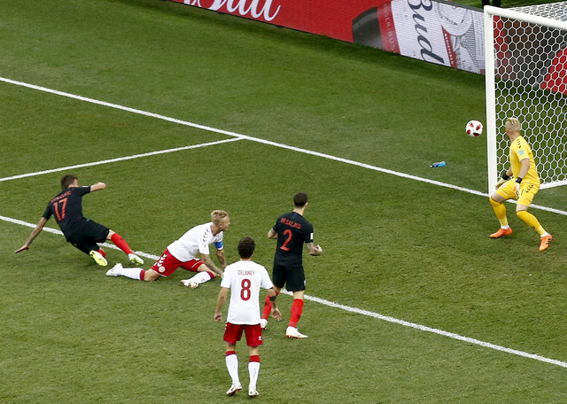Trenutak kada je Mandžukić izjednačio rezultat