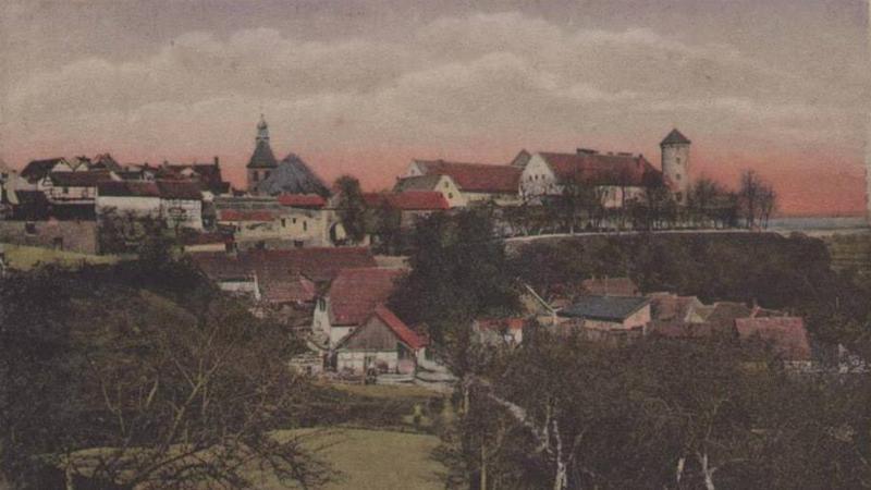 Pasłęk na starej pocztówce