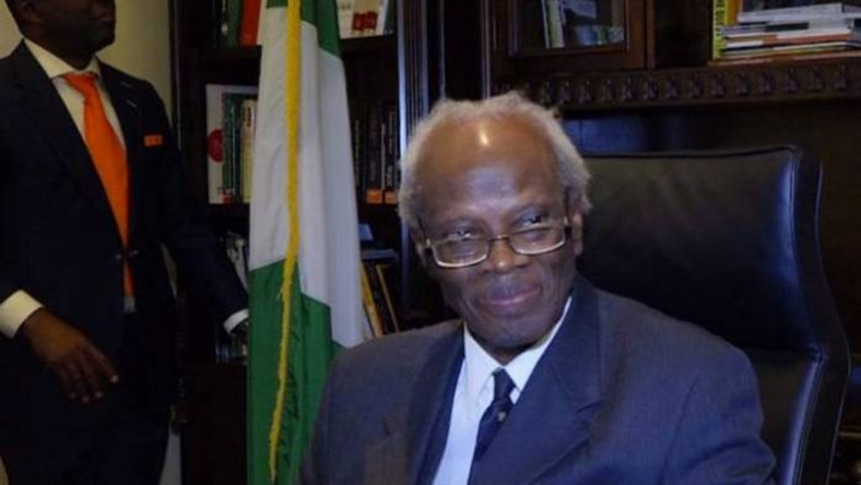 Justice Sylvanus Adiewere Nsofor, Nigerian Ambassador to the United States of America.