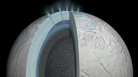 Hydrotermalna aktywność na księżycu Saturna