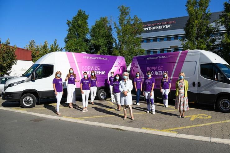 Pokretni mamograf ispred Urgentnog centra
