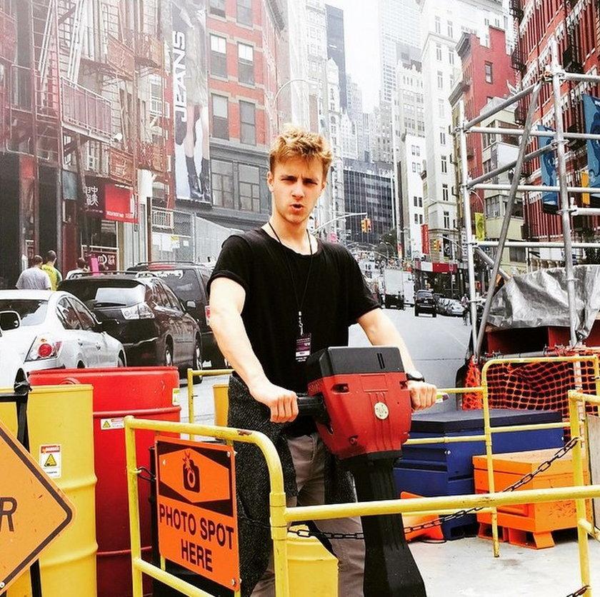 Maciej Musiał chce robić karierę w Hollywood